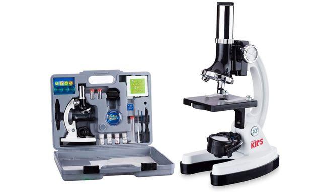 Микроскоп AmScope 120X-1200X 52-pcs Kids Microscope STEM
