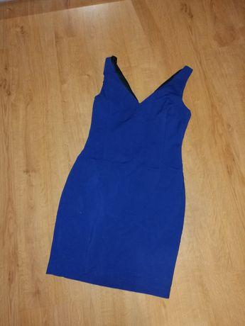 ZARA BASIC sukienka S