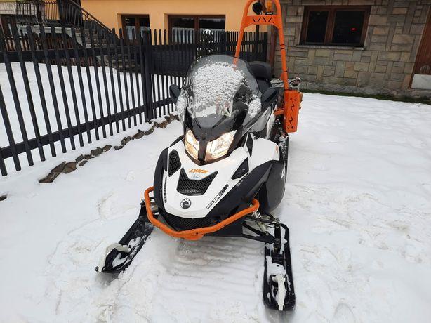 Skuter śnieżny Lynx Alpine 69 Ranger Rotax 1200