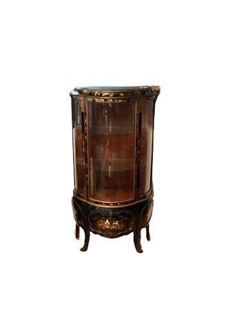 Vitrine, cristaleira chinesa oriental antiga