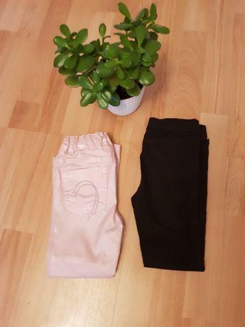 Spodnie h&m dla dziewczynki 98/104