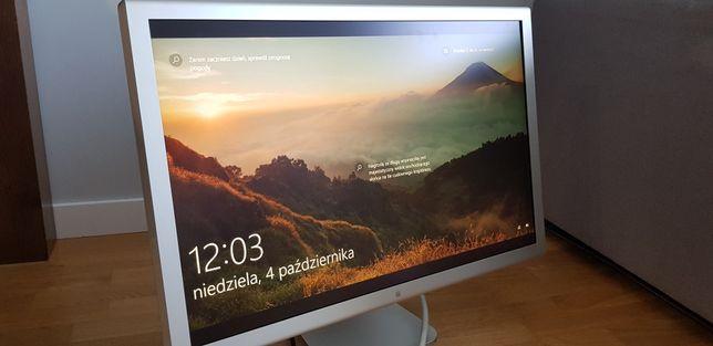 Monitor APPLE Cinema 30 + zasilacz i adapter