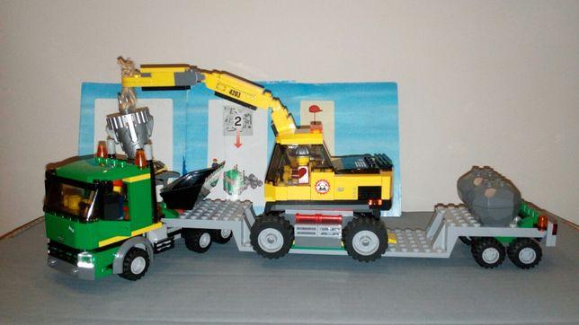 LEGO CITY Koparka z transportem