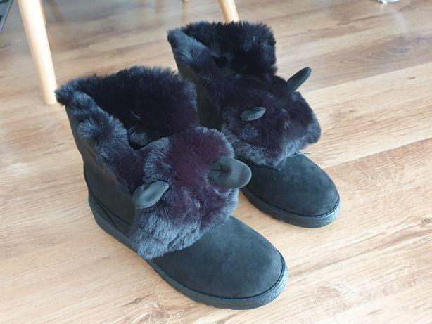 Buty zimowe króliczki modne w tym sezonie