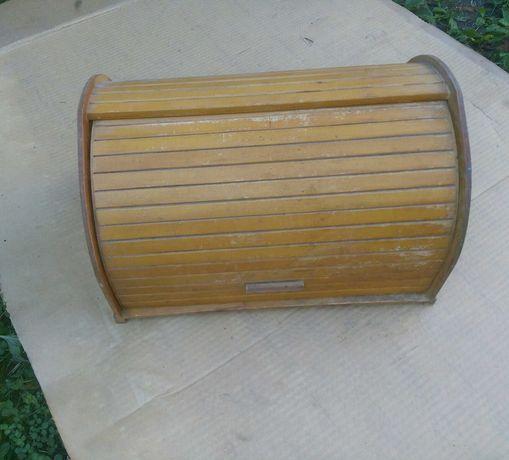 советская хлебница сувенирная деревянная СССР декор шкафчик