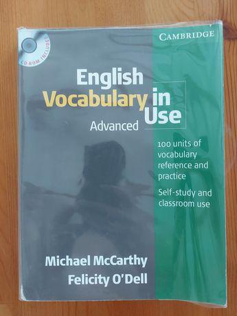 Książka do nauki angielskiego English Vocabulary in Use Advanced