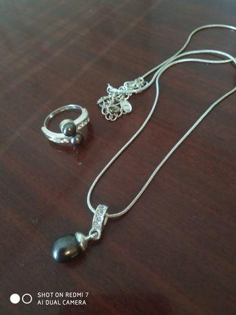 Бижутерия кольцо и цепочка с подвеской LBVYR