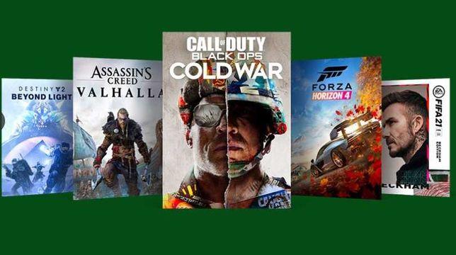 Игры на Xbox one FIFA 21, UFC 4, Cyberpunk 2077, AC Valhalla и др