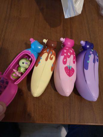 Zabawki 4 banaki z niespodzianką dla dziewczynki