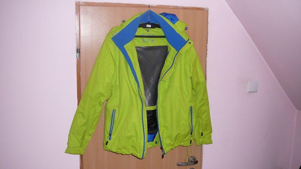 kurtka termoaktywna wiatro wodo odporna zielona Wałbrzych - image 1