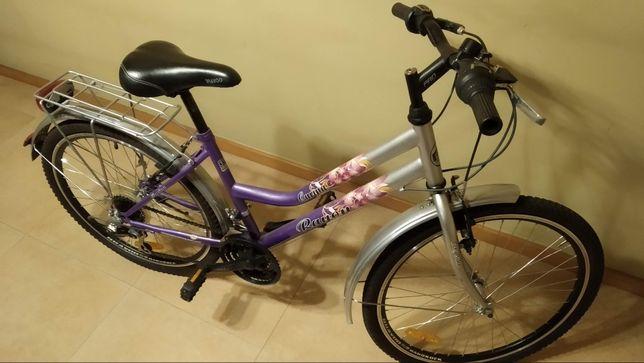 """Rower miejski damka, rama 15"""", koła 24"""""""