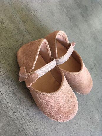 H&M baleriny skórzane roz. 19