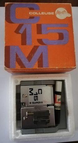 Aparelho para colar películas de filme Super 8 e 8MM Vintage