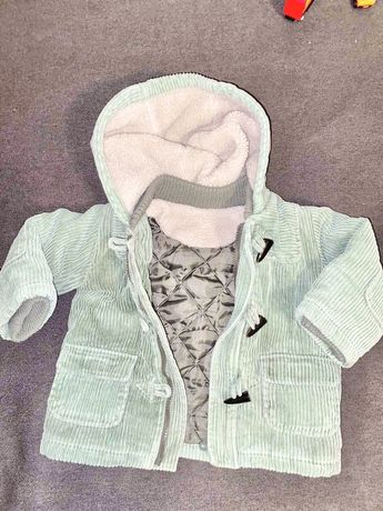 Пальто куртка Mothercare вильвет 86 1-2 года деми