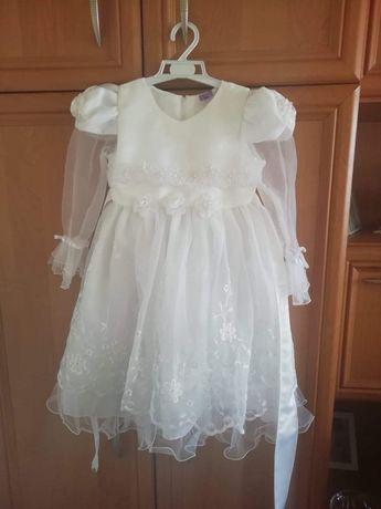 Sukienka dla malej ksiezniczki 110-116