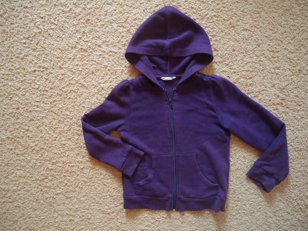H&M Bluza dziewczęca z kapturem r. 122-128