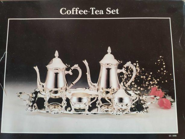Conjunto chá banho a prata embalado