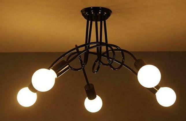 ZD74A - Nowoczesna lampa żyrandol 5 ramion, APTEL