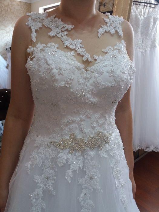 Suknia ślubna SPRZEDAM Węgorzewo - image 1
