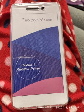 Двухсторонний чехол Redmi 4 Prime