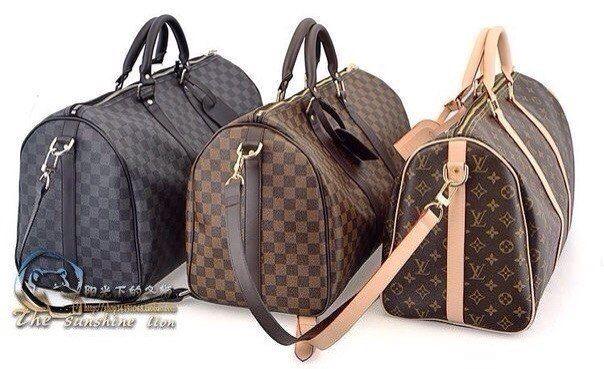 Дорожная сумка Луи Витон, в наличии Louis Vuitton 45см, 50см, 55см