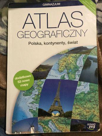 Atlas geograficzny,