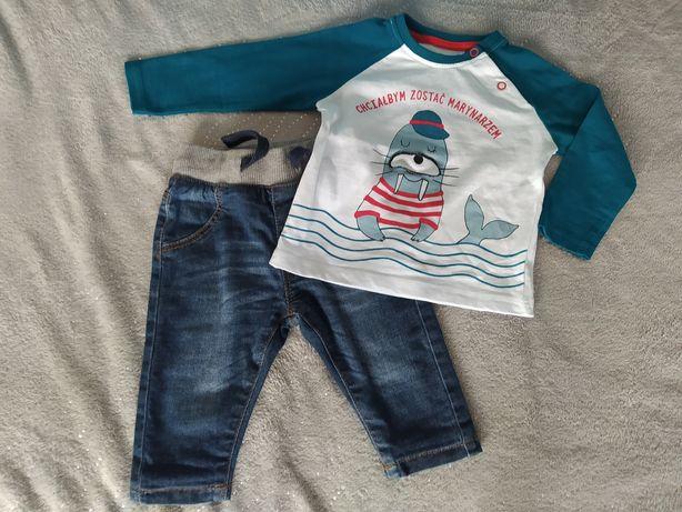 Spodnie jeansowe 62/68