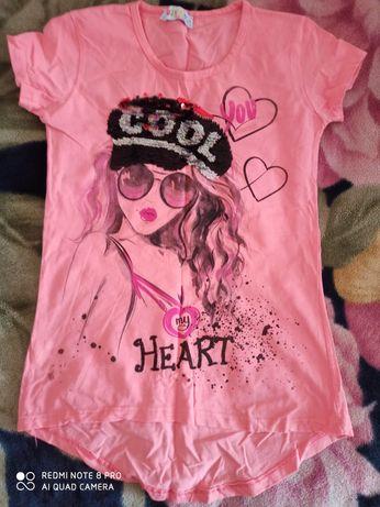 Чудова футболка для дівчинки