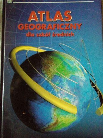 Atlas geograficzny dla szkół średnich PPWK