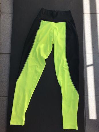 Neonowe legginsy Mordex