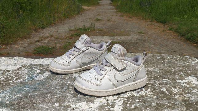 Дитячі шкіряні кросівки Nike Court Borough Low 2