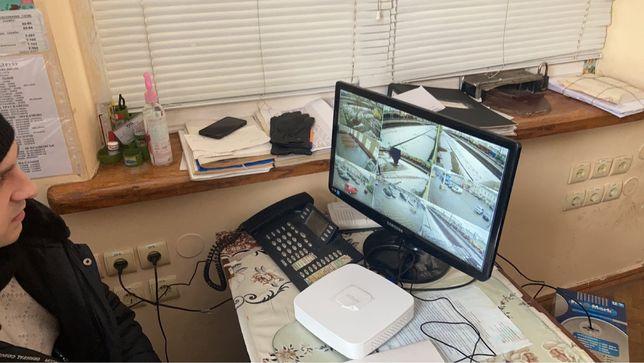 Відеоспостереження, охоронна сигналізація, компютерні мережі, домофони