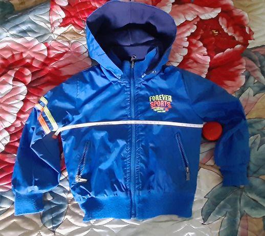 Куртка двостороння дитяча для хлопчика весна/осінь