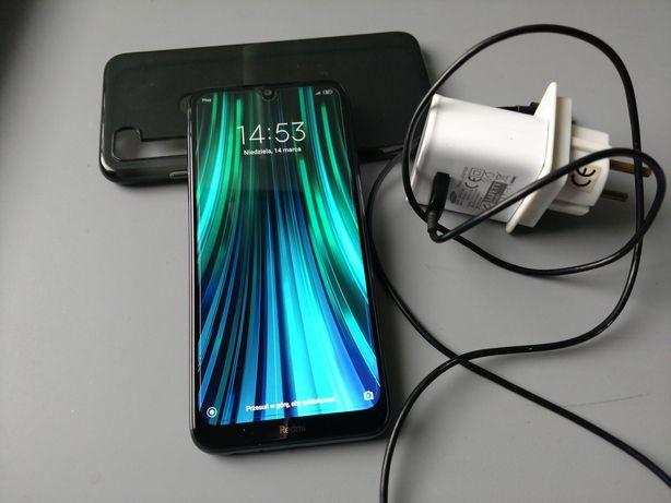 Xiaomi Redmi Note 8T niemal jak nowy, 4/64, bateria 4-5 dni,  case