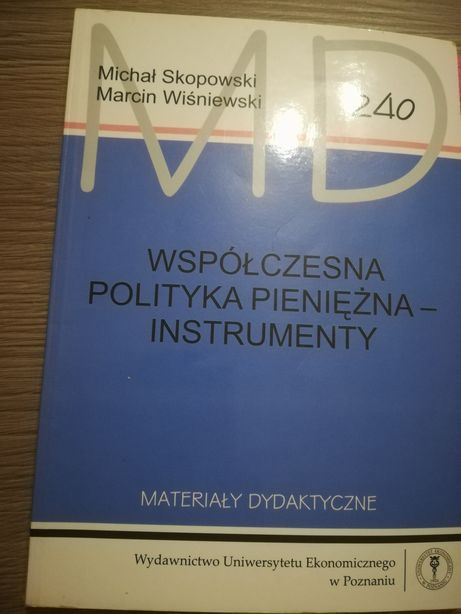 Współczesna polityka pieniężna instrumenty 240