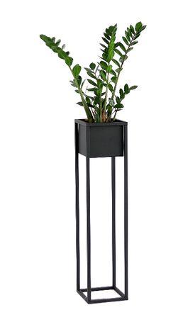 Kwietnik Metalowy Stojak 90cm skrzynka LOFT Metaloplastyka