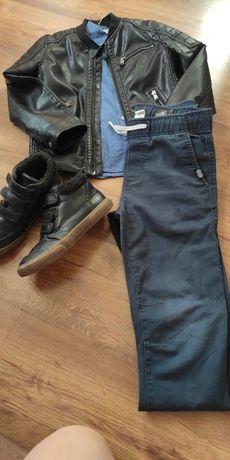 Куртка джинсы ботинки кожанка next zara