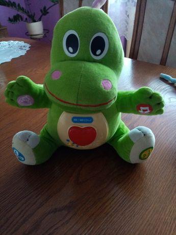 Interaktywna zabawka smok Dino i przytulanka do spania