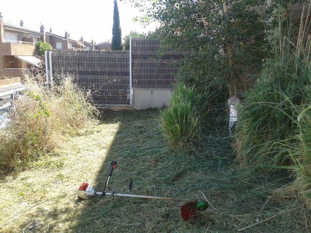 Limpeza de terrenos, jardins e quintais,poda de árvores, jardinagem