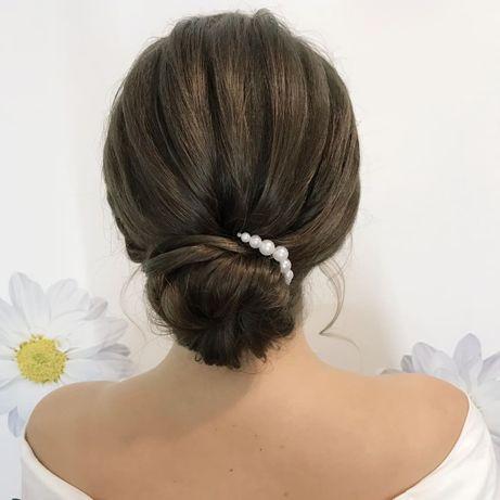 Прически: свадебные, вечерние, выпускные/ Плетение/ Выезд на дом