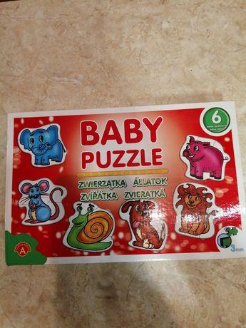 Baby puzzle zwierzątka