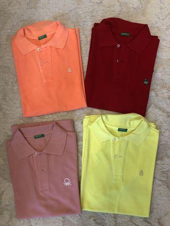 Firmowe koszulki Polo Benetton