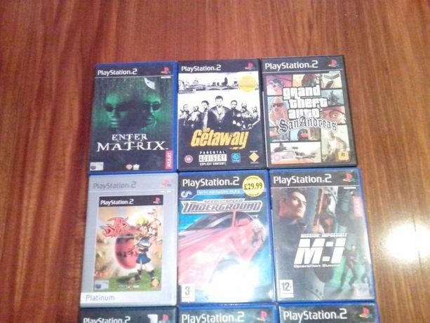 4 Jogos Playstation 2 PS2