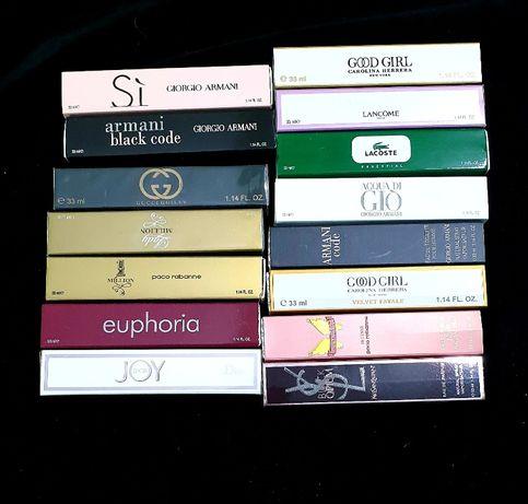 Perfumy 20 ml - 33 ml - 3x20 ml