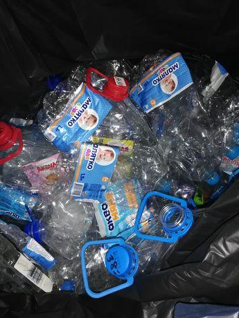 Пластиковый бутыль 5л из под детской воды.