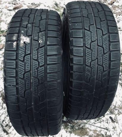 firestone 195/55r16 2 шт зима резина шины б/у склад