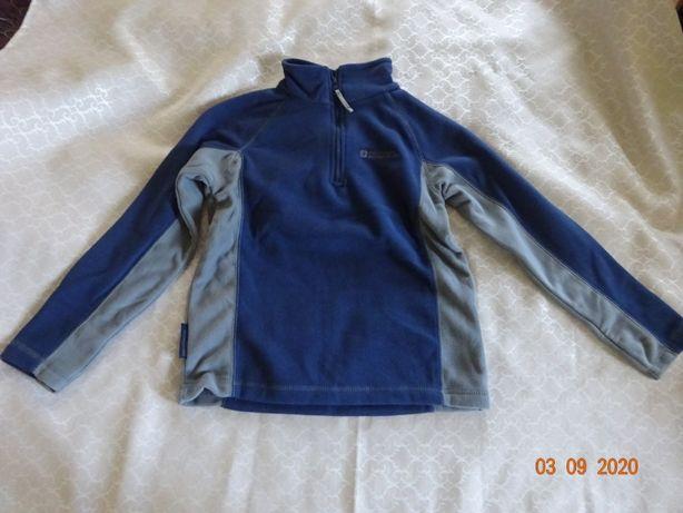 Jak Nowa Bluza Polar Firmy MOUNTAIN Rozmiar 122 , 7-8 lat