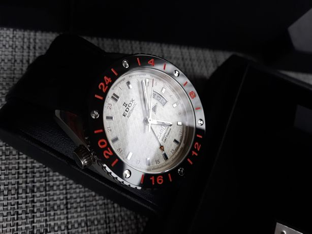 Edox Class One 93002 Titanium GMT Automatic