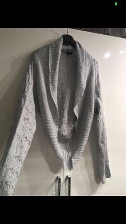 Narzutka H&M szary sweterek M