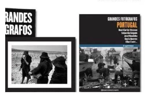 Colecção Grandes Fotógrafos - EXPRESSO - RARO